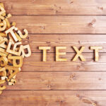 """""""TEXT"""" in Block Letters"""